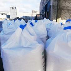 Мраморный щебень в биг-беге (фр. 7-12 мм.) 1000 кг. / 1 тонна.